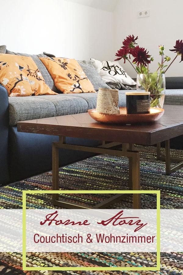 Home Stroy, Wohnzimmer, Couchtisch, Westwing, Akazienholz. Zuhause, Wohnen, Einrichtung. Leben, Coffeetable, Tisch, Wohnzimmer