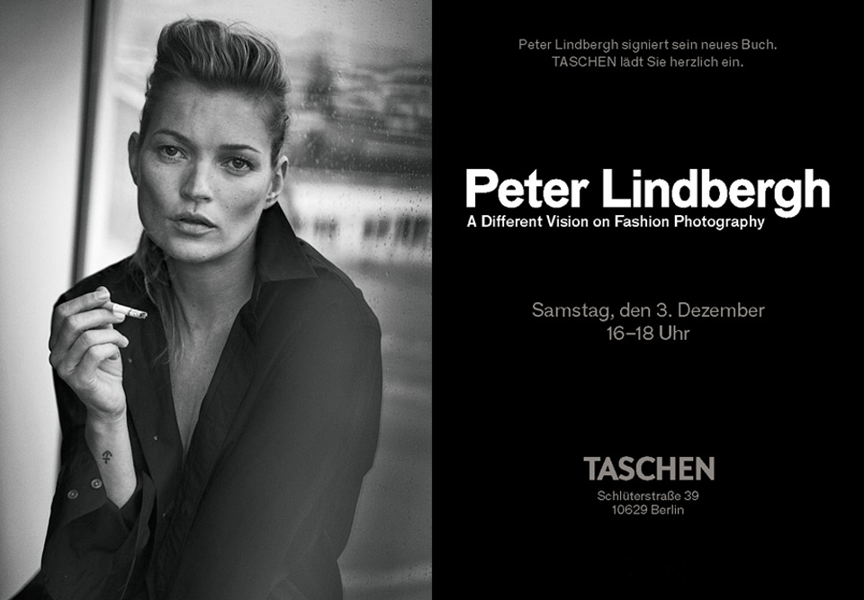 Event Tipp, Berlin, Peter Lindbergh, Taschen, Verlag, Fashion, Buch, Fotografie, Supermodels, Flagshipstore,