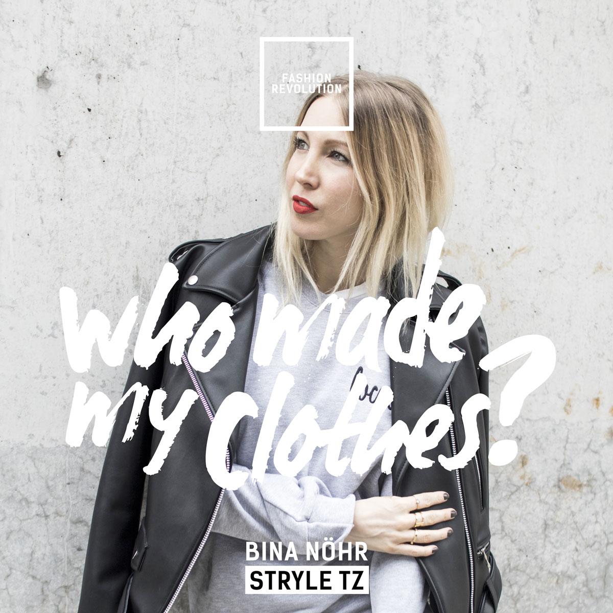 Fair Fashion, Fashion Revolution Day, Faire Mode, Labels, Shopping, Bina von StryleTz,