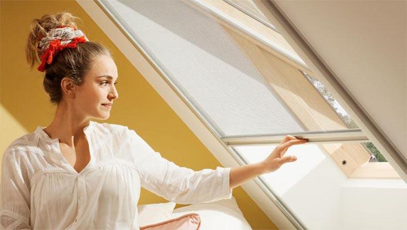 Dachfenster, Insektenschutz, Sommer, Insekten, Dachgeschosswohnung, Wohnung, Home, Living, Wohnen, Interior