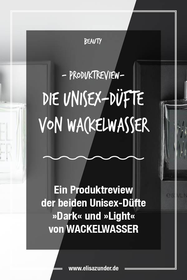 Unisex-Düfte Wackelwasser, Produktreview der Wackelwasser Düfte, Wackelswasser Light, Wackelwasser Dark, Parfüm, Wackelwasser im Test,