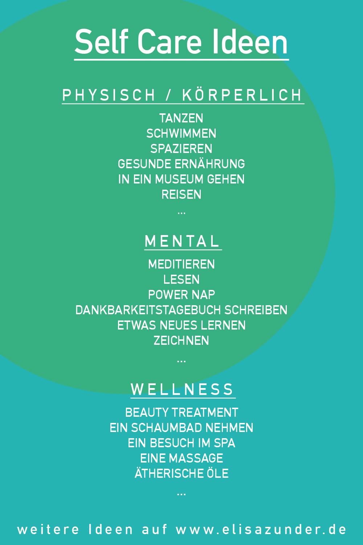 Self Care Ideen, Wohlbefinden steigern, Self Care, Selbstfürsorge, Leben, Lifestyle