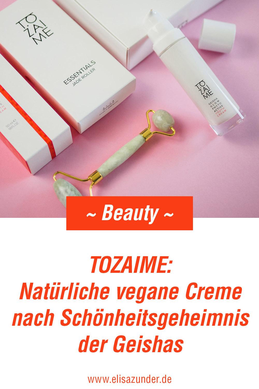 Tozaime natürliche vegane Creme nach Schönheitsgeheimnis der Geishas, K-Beauty, Gesichtspflege, Fermentiere Beauty Produkte, Erfahrungsbericht mit Tozaime, Gesichtspflege nach Geisha Schönheitsgeheimnis, morderne Phyto-Science Technologie
