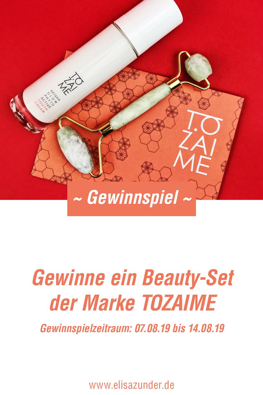 Gewinnspiel mit Tozaime, Tozaime Beauty-Set, Naturkosmetik Gewinnspiel Gewinne, Verlosung mit Tozaime, Gesichtspflege, Hautpflege, Anti-Aging, Gesichtscreme von Tozaime,