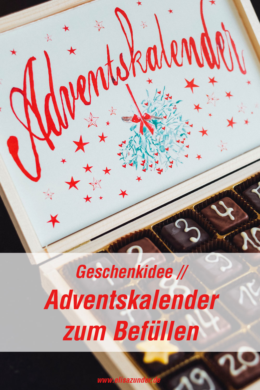 Adventskalender zum Befüllen, Adventskalender, Geschenk, Geschenidee, Weihnachten, Advent, Geschenke