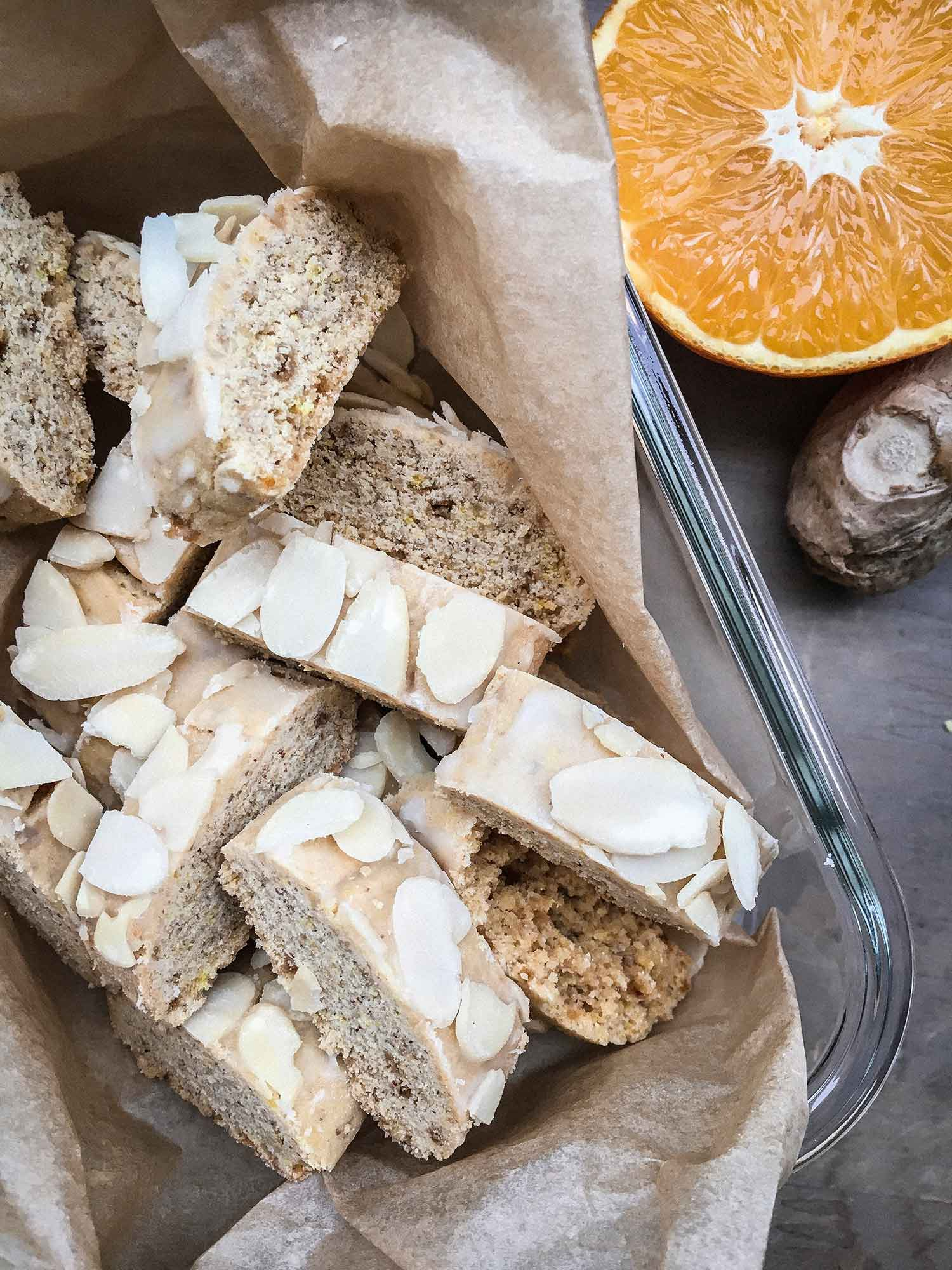 Weihnachtsplätzchen-Rezepte, Orangen-Ingwer-Brot-Rezept, leckeres Orangen-Ingwer-Brot, vegane Plätzchen, vegane Weihnachtsplätzchen, Plätzchen Rezepte