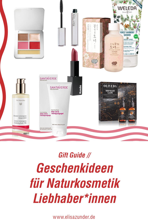 Gift Guide für Naturkosmetik-Liebhaber*innen, Naturkosmetik, Geschenke, Geschenideen zu Weihnachte, Geschenke, Kosmetik, Gesichtspflege, Körperpflege