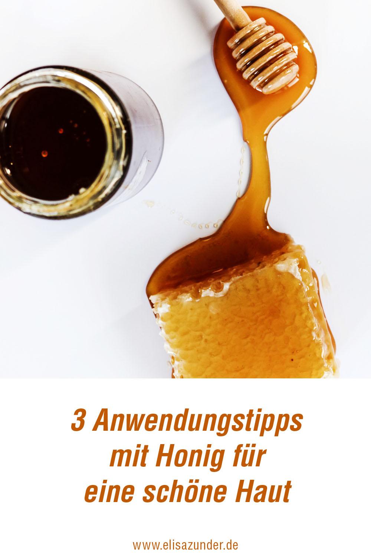 Anwendungstipps mit Honig für schöne Haut, Honig gegen Pickel, Anwendungen mit Honig, schöne Haut durch Honig, Hautpflege, Wohlbefinden, ElisaZunder Blogazine