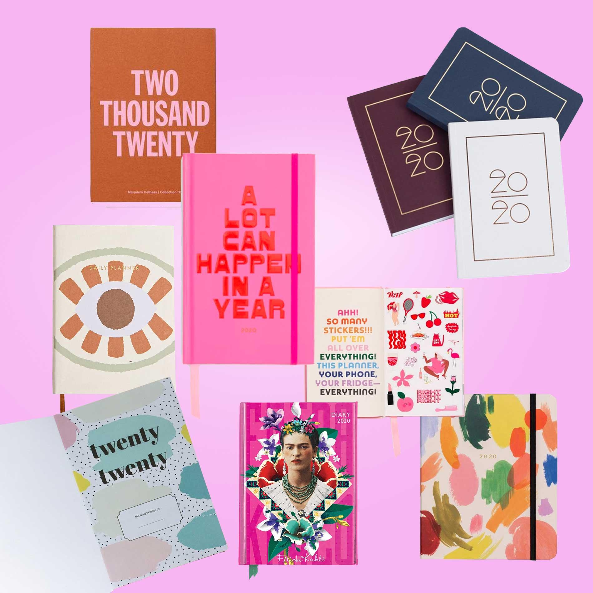 Kalender für 2020, Terminkalender, Notizbücher, Termine planen, To-Do, Pocket Kalender, Taschenkalender, Kalender für unterwegs