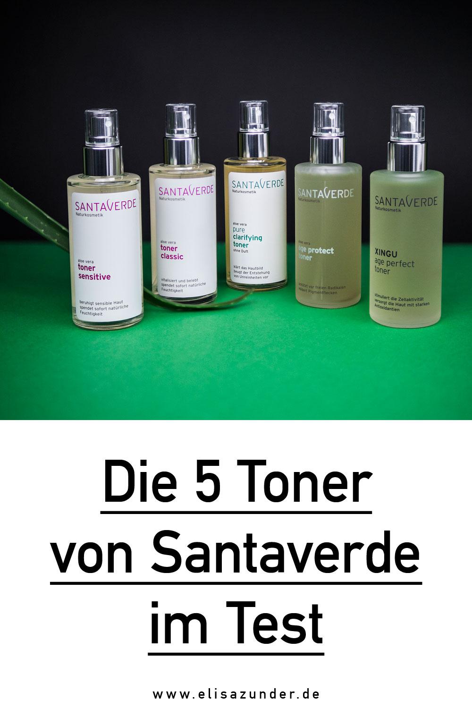 Toner für das Gesicht, Was ist ein Toner, Was ist Toner, Anwendung von Toner, Gesichtstonikum, Gesichtswasser, Santaverde Toner im Test, Santaverde Erfahrung, Beauty Review der Santaverde Toner,