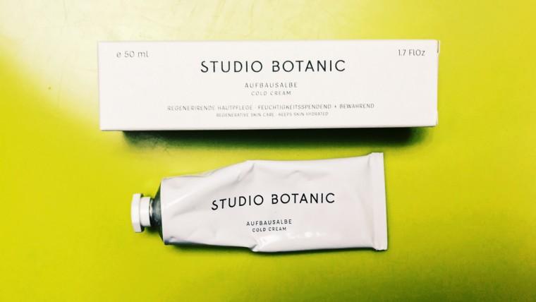 Cold Cream Studio Botanic, Aufbausalbe, trockene und rissige Haut, Hautpflege für trockene und rissige Haut, Hautplfege Allrounder, spröde Lippen,
