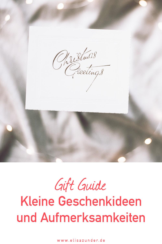 Kleine Weihnachtsgeschenke, Geschenkideen, Geschenke, Weihnachtsgeschenke für jedes Budget, Kleine Aufmerksamkeiten zu Weihnachten
