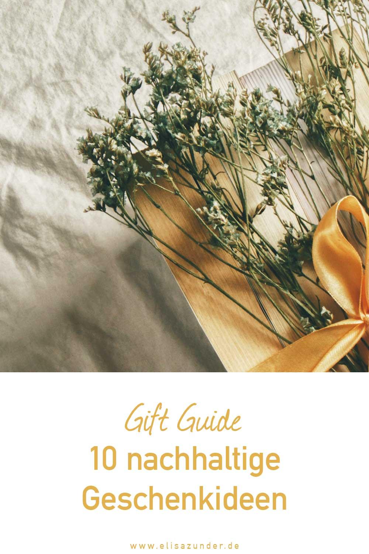 Nachhaltige Geschenkideen, Geschenkideen, Gift Guide mit nachhaltigen Geschenke, Fair Fashion, faire Mode, Nachhaligkeit, Weihnachtsgeschenke, Geschenke, Geschenkideen