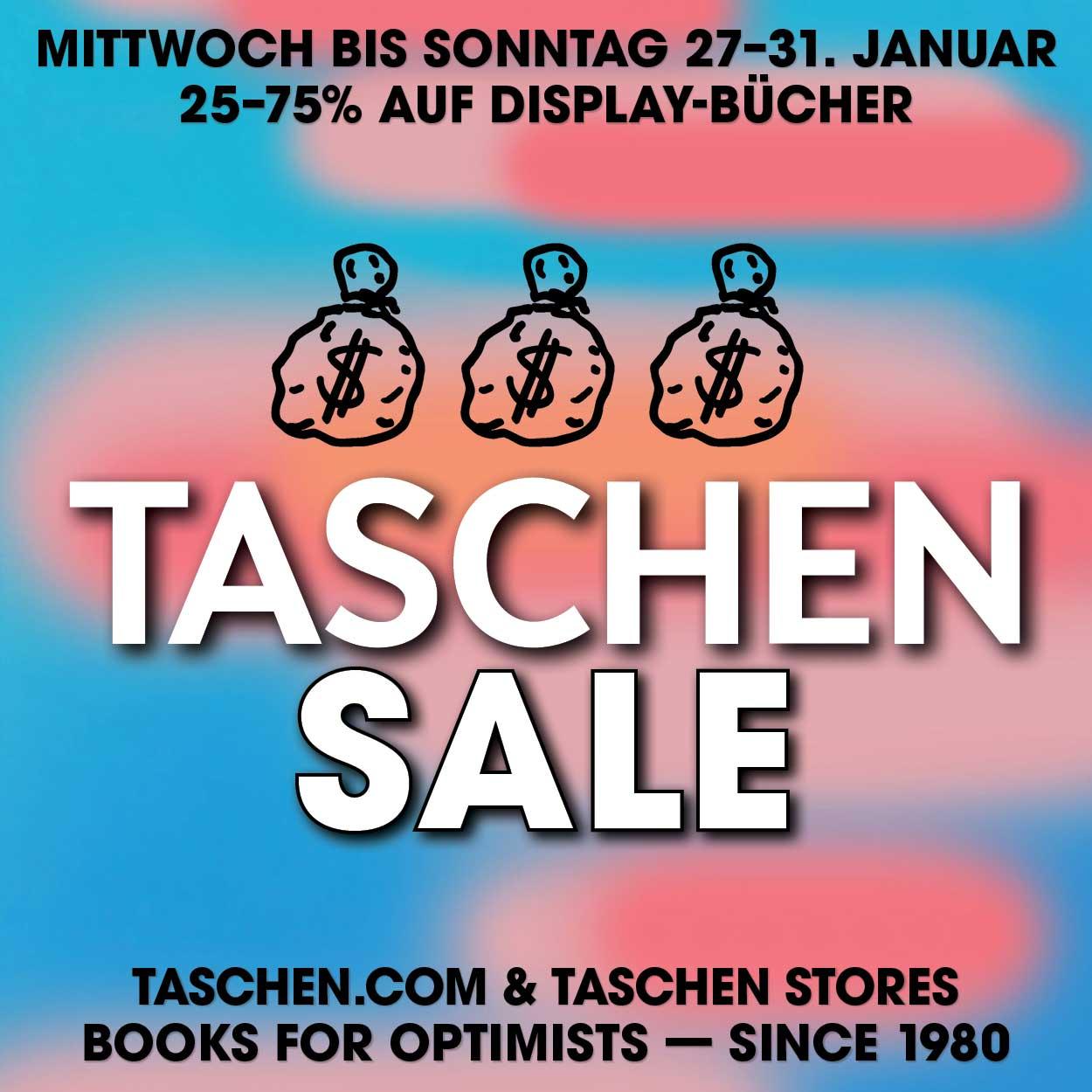 TASCHEN Verlag Sale, Sale beim TASCHEN Verlag