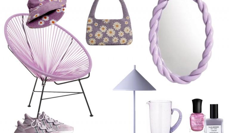 Flieder, Lavendel, Lila-Töne, wir lieben Flieder, Mode, Interior, Beauty