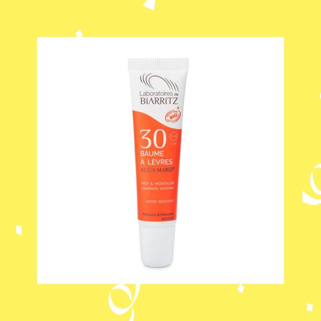Sonnenschutz für die Lippen mit Lippenpflege von Alga Maris