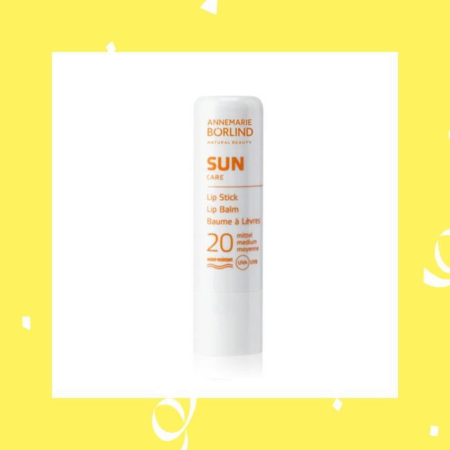Sonnenschutz für die Lippen mit Lippenpflege von Annemarie Börlind