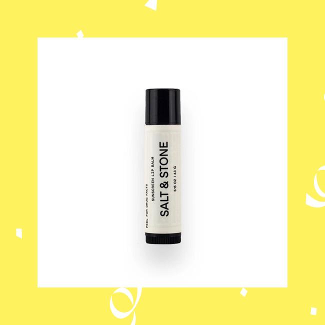 Sonnenschutz für die Lippen mit Lippenpflege von Salt & Stone